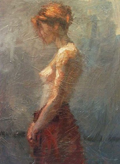 Afternoon Light 2003 Embellished  Limited Edition Print by Henry Asencio