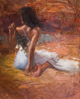 Untitled Painting 1997  64x76 Super Huge Original Painting - Henry Asencio