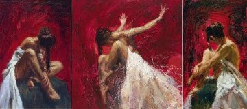 Sentiments Triptych - Conviction, Desire, Liberation Suite of 3 2005  Limited Edition Print by Henry Asencio