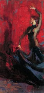 Flamenco 2014 Embellished Limited Edition Print by Henry Asencio