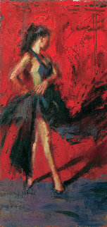 Italia 2014 Embellished Limited Edition Print by Henry Asencio