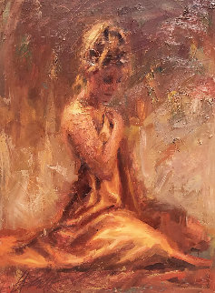 Untitled Painting 2003 50x40 Super Huge Original Painting - Henry Asencio