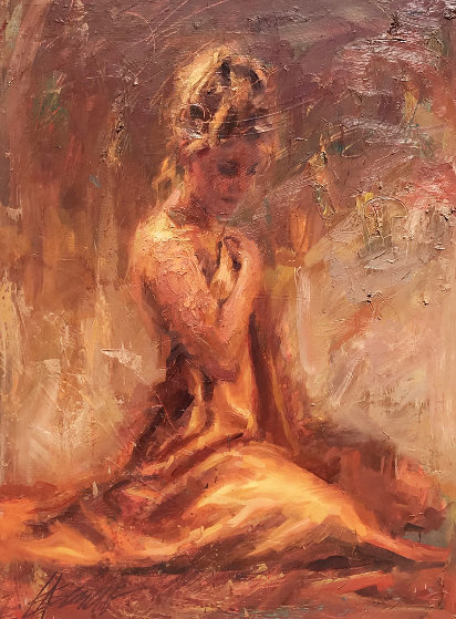 Untitled Painting 2003 50x40 Super Huge Original Painting by Henry Asencio