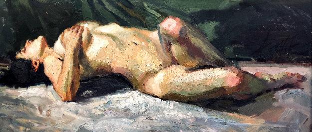 Evening Light 2005 23x42 by Henry Asencio