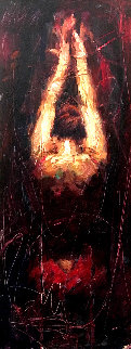 Surrender 17x32 Original Painting by Henry Asencio
