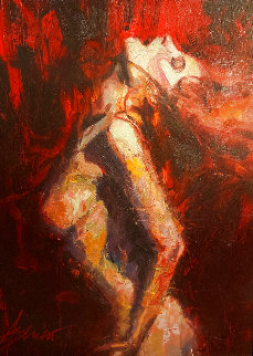 Chaos 2011 Embellished Limited Edition Print - Henry Asencio