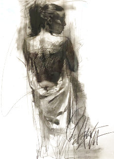 Exhiliration Pastel 2004 36x30 Works on Paper (not prints) - Henry Asencio