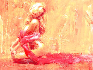 Golden Aura 2007 Huge Limited Edition Print - Henry Asencio