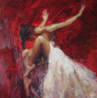 Sentiments - Desire, Liberation, Conviction Suite of 3  2005 Embellished  Limited Edition Print - Henry Asencio