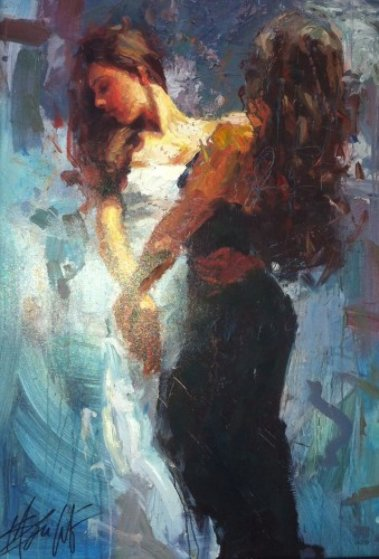 Celebration Embellished 2006 Limited Edition Print by Henry Asencio