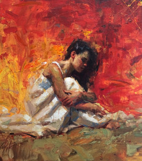 Day Dream 2006 Embellished Limited Edition Print by Henry Asencio