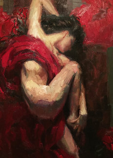 Passionate Dreams 35x50 Super Huge Original Painting - Henry Asencio
