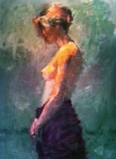 Afternoon Light 2002 Embellished Limited Edition Print by Henry Asencio