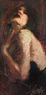 Passionate Memories 2004 25x38 Original Painting by Henry Asencio - 0