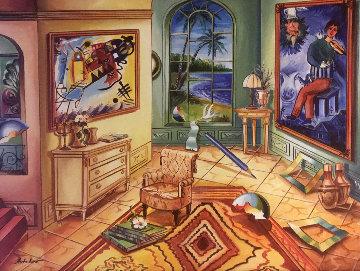 Untitled Painting 22x27 Original Painting by Alexander Astahov