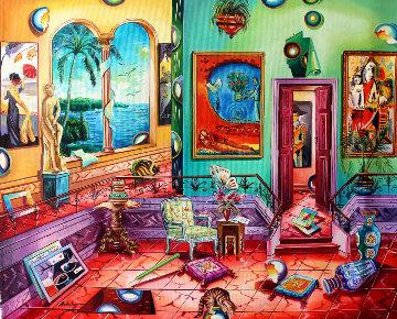 Collector 2006 24x30 Original Painting - Alexander Astahov