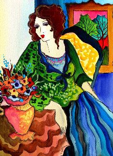 Green Day Watercolor 2009 14x11 Watercolor - Alexander Astahov