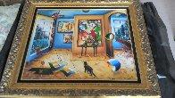 Untitled Painting 29x33 Original Painting by Alexander Astahov - 2