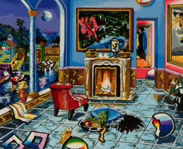 Study Room Limited Edition Print - Alexander Astahov