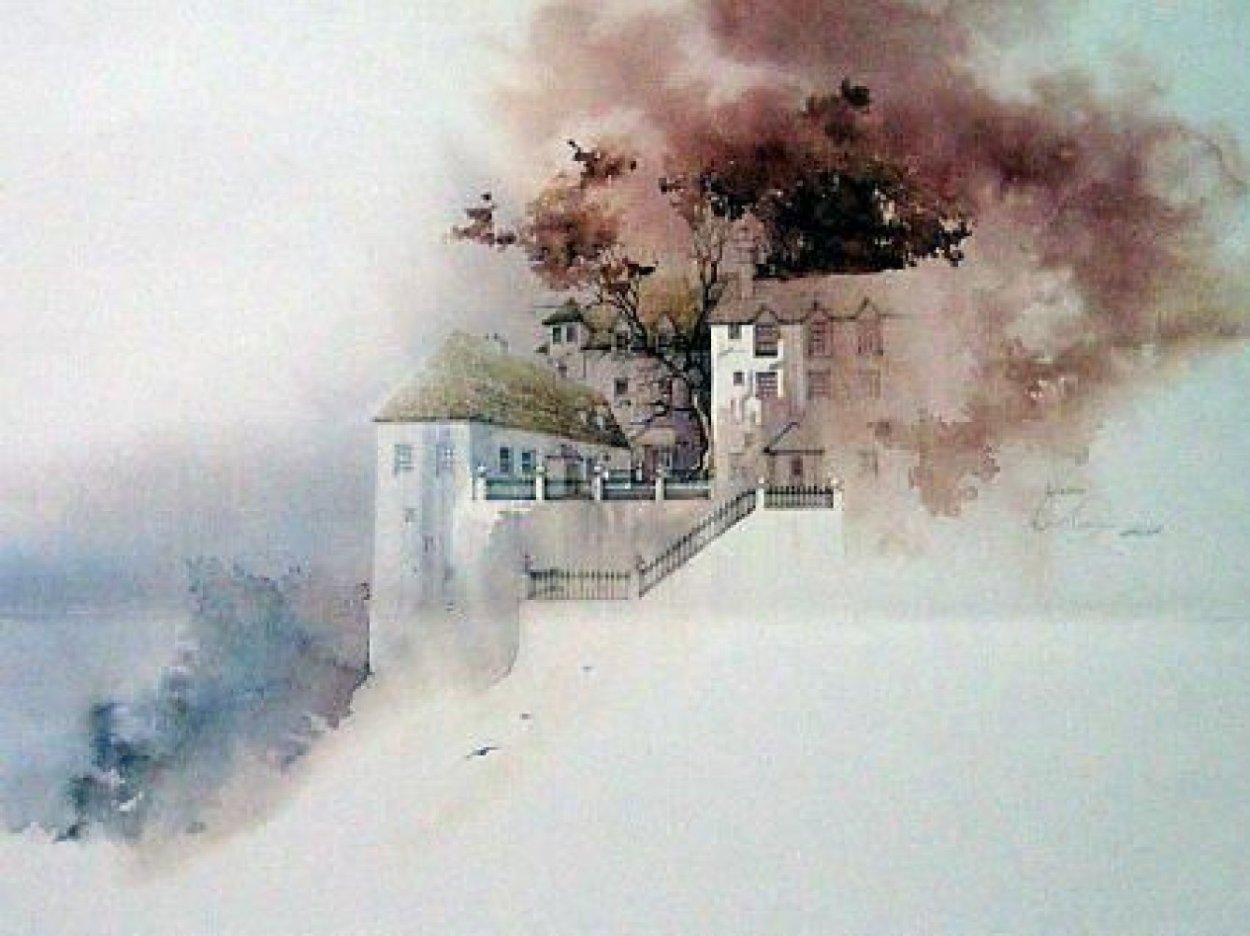 Traquar House Limited Edition Print by Michael Atkinson