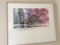 Winter Reflections 1987 Limited Edition Print by Michael Atkinson - 1