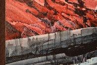 Agua Caminando Watercolor 43x18 Watercolor by Michael Atkinson - 2