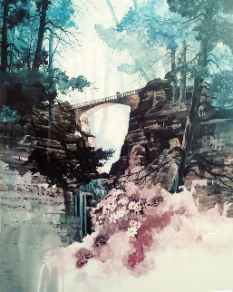 Wilderness Gate 1995 Limited Edition Print - Michael Atkinson