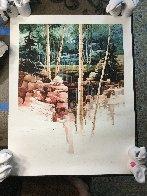 Aspen Glen 1998 Limited Edition Print by Michael Atkinson - 2