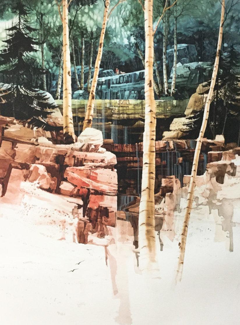 Aspen Glen 1998 Limited Edition Print by Michael Atkinson
