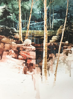 Aspen Glen 1998 Limited Edition Print by Michael Atkinson