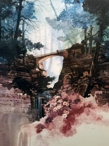 Wilderness Gate Limited Edition Print by Michael Atkinson