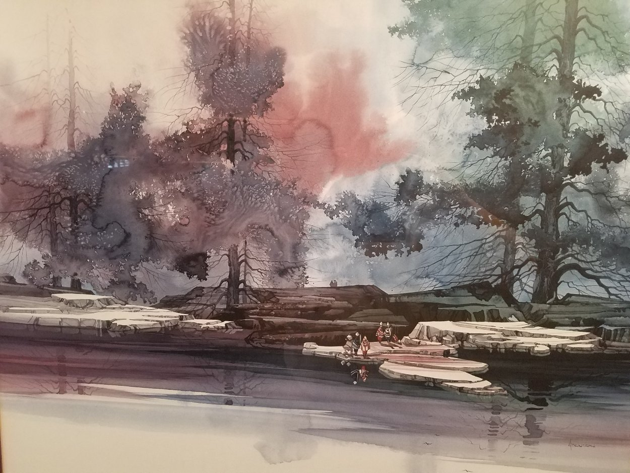 Water's Edge 2000 Limited Edition Print by Michael Atkinson