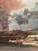 Water's Edge 2000 Limited Edition Print by Michael Atkinson - 3