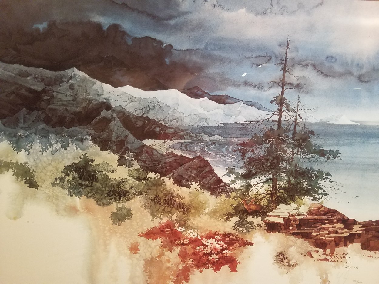 Tranquil Cove 2000 Limited Edition Print by Michael Atkinson