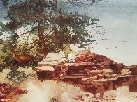 Tranquil Cove 2000 Limited Edition Print by Michael Atkinson - 3