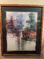 Cliff Falls 2000 Limited Edition Print by Michael Atkinson - 1