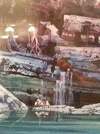 Cliff Falls 2000 Limited Edition Print by Michael Atkinson - 6