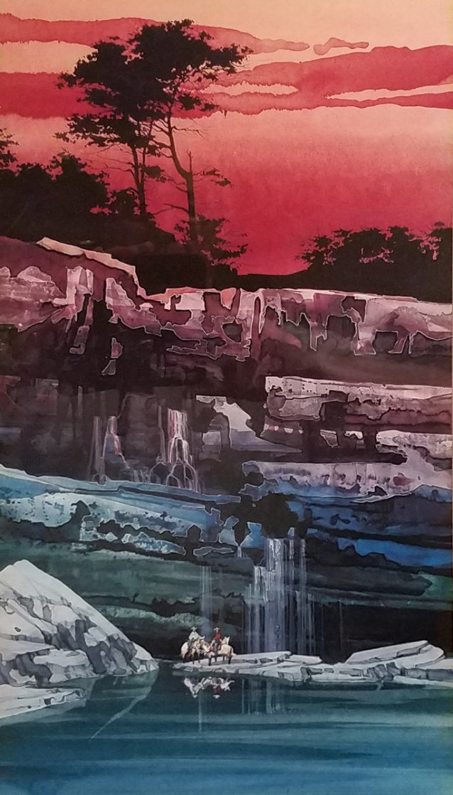 Evening Vista I 2000 Limited Edition Print by Michael Atkinson