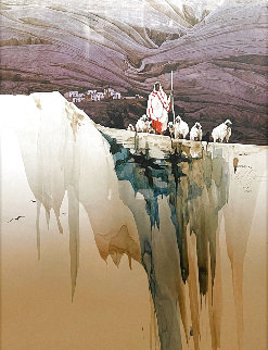 Pueblo Sentinel Limited Edition Print - Michael Atkinson