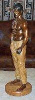 Doug Bronze Sculpture 36 in Sculpture by Michael Atkinson - 2