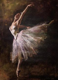 Ballerina 2006 Embellished Limited Edition Print - Andrew Atroshenko