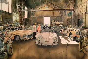 German Garage I 1993 Limited Edition Print - Daniel Authouart