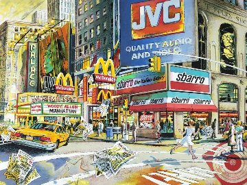 Manhattan Limited Edition Print - Daniel Authouart