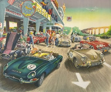 Rallye Sixties Limited Edition Print - Daniel Authouart