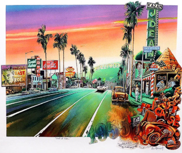 East of Eden 1990 Limited Edition Print by Daniel Authouart