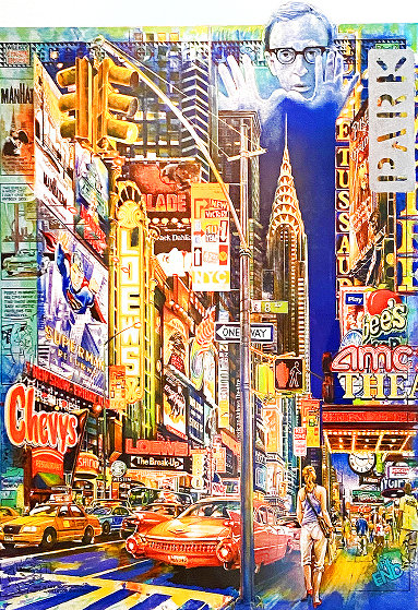 Downtown 1985 Limited Edition Print by Daniel Authouart