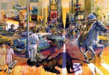 American Psycho Limited Edition Print - Daniel Authouart