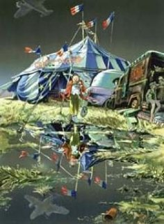 Cirque Pepito Limited Edition Print by Daniel Authouart