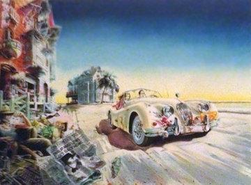 Le Jag Limited Edition Print by Daniel Authouart