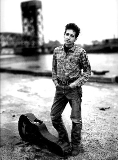 Bob Dylan 1963 Photography - Richard Avedon